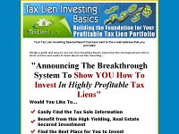 Tax Lien Investing Basics Downloads