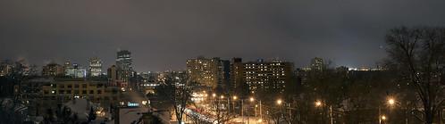 panorama ontario canada london night landscape cityscape londonontario