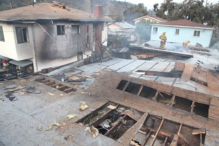 LAFD Hampered by Stored Ammunition at Elysian Valley. Fire Click to view more...