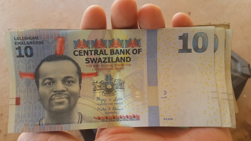 Swaziland bank note