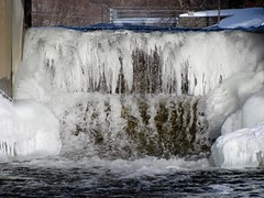 winter, water, ice, icicle, freezing,