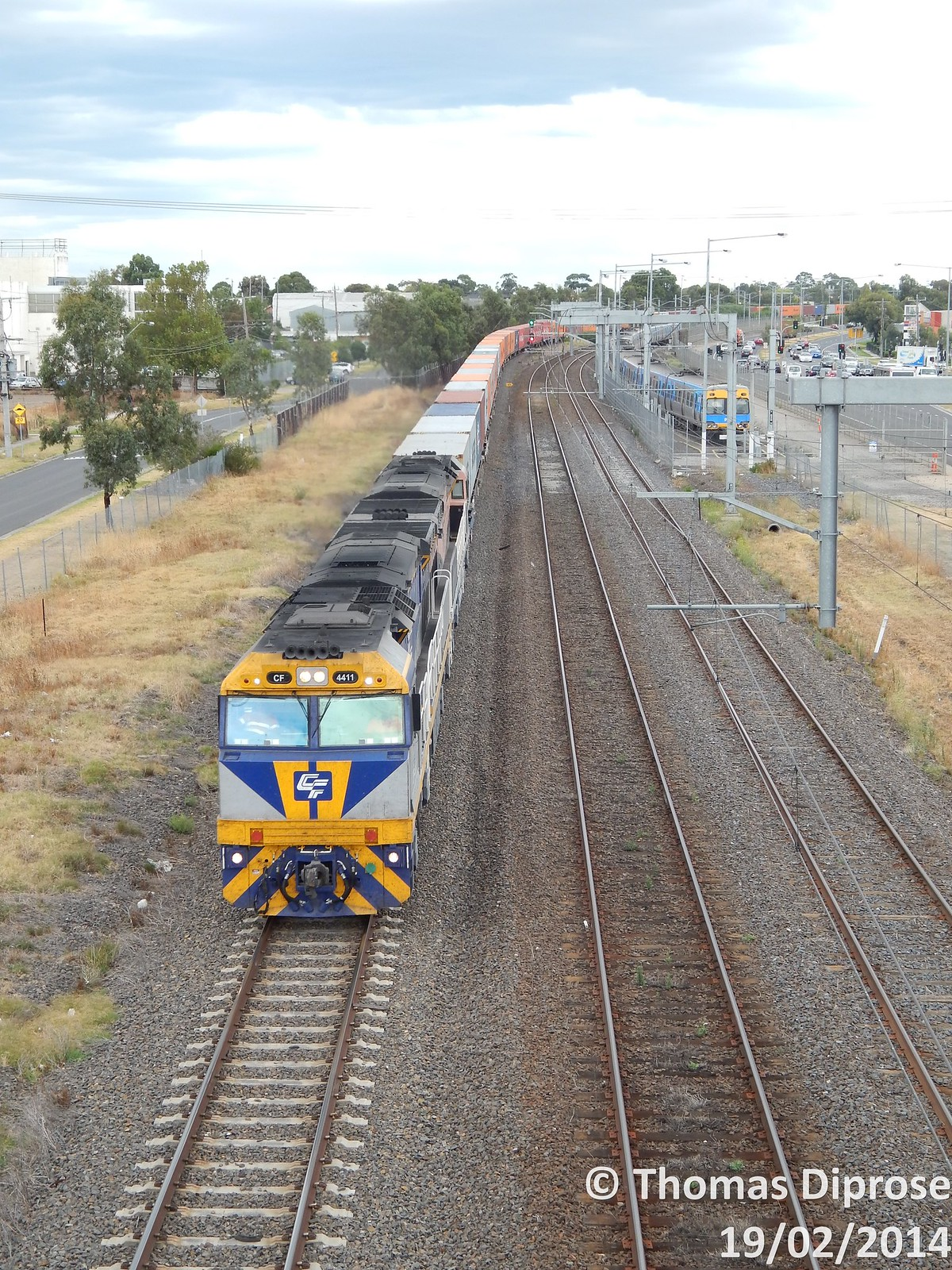 CF 4411 and CF 4412 on 4MC1 at Broadmeadows by Tom Diprose