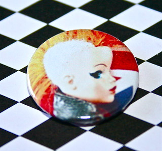 PUNK ROCK SINDY BADGES MOW AVAILABLE ON ETSY!
