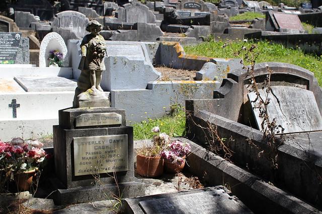 Sunday: exploring Karori cemetery