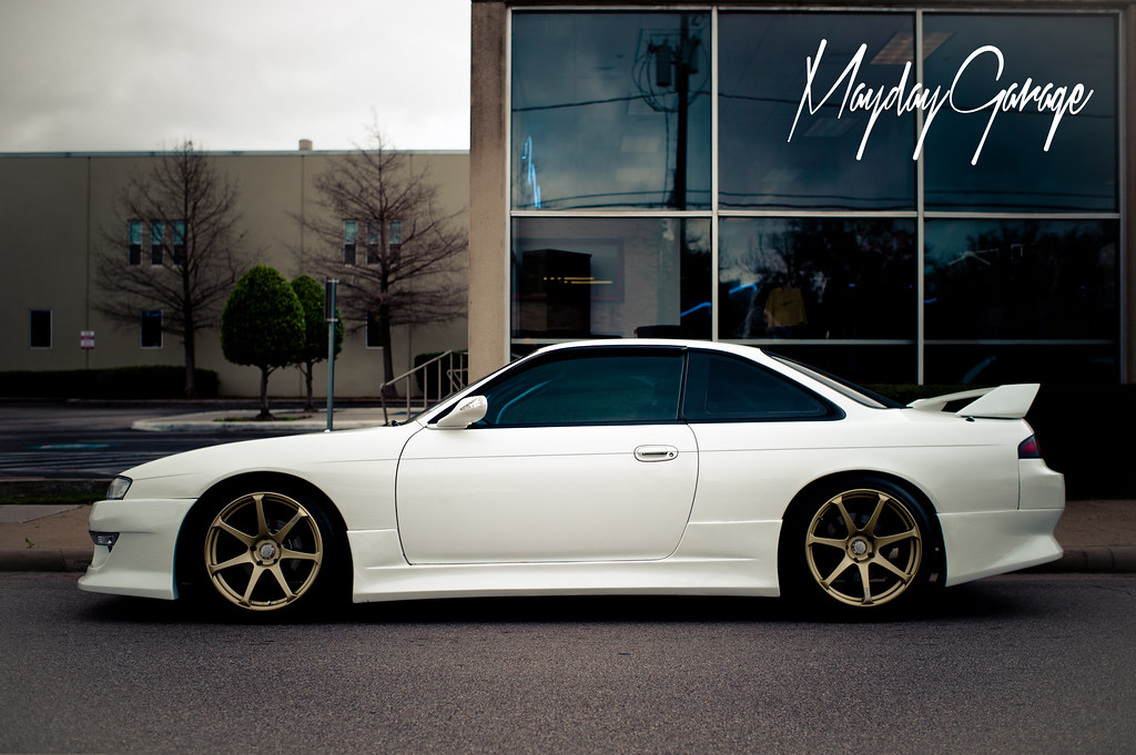 Paul Morgan's authentic JDM RHD S14