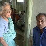 Prema Nani with Madha Babu in Pujaghar