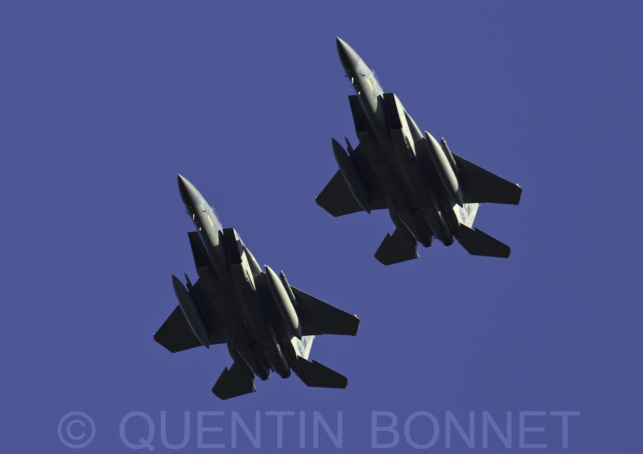 USAF McDonnell Douglas F-15C Eagle LN 86-156 & 86-164