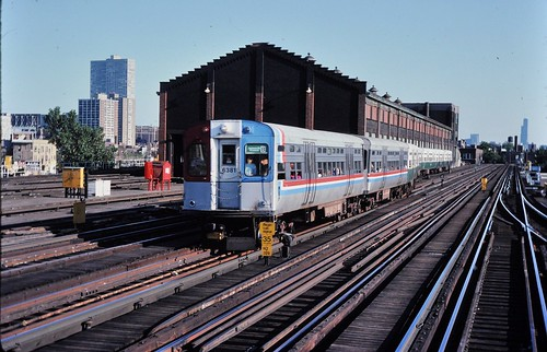 CTA Wilson St shops Aug 1982 ,