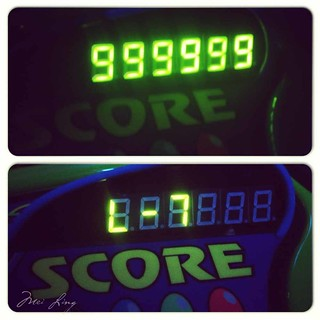 Mei's high score on Buzz Lightyear.