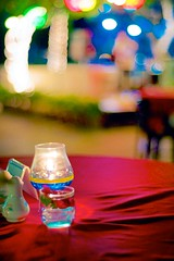 Night Cafe By the Sea