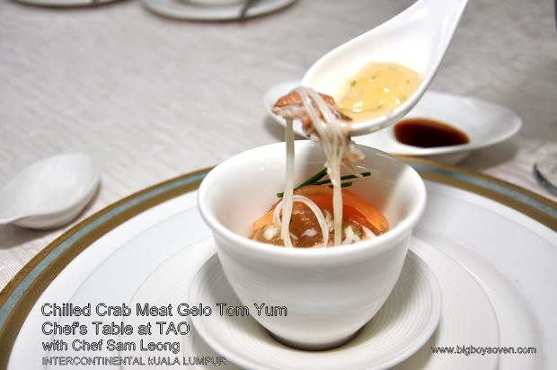 Chef's Table with Chef Sam Leong at TAO Intercontinental Kuala Lumpur 5