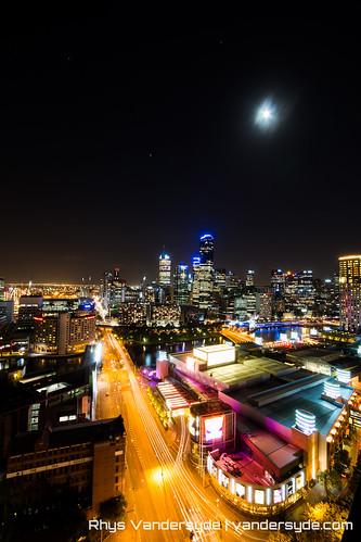 Melbourne at Night - Melbourne, Australia, 2014