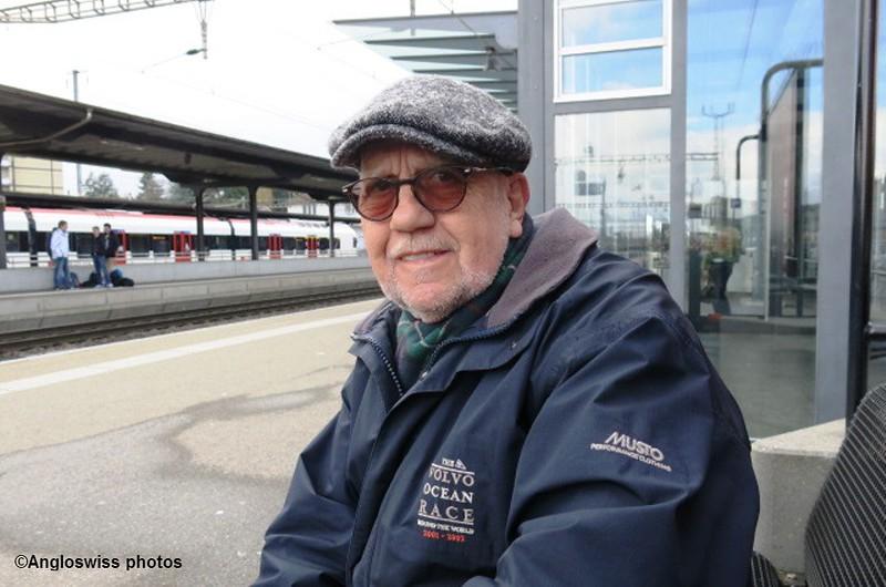 Marcel at Solothurn station