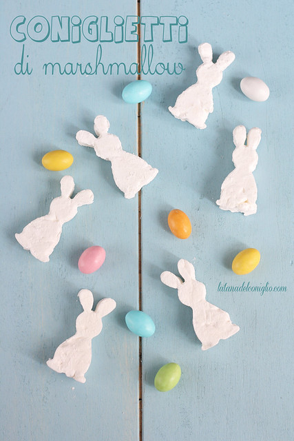 coniglietti di marshmallow