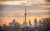 CN Tower at Sunset by chaddywan