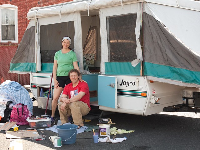 Maria And Johns Remodeled Pop Up Camper DIY Del Ray
