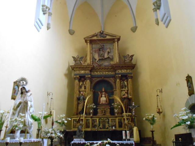 Retablo de San Pedro de la iglesia de Cudillero