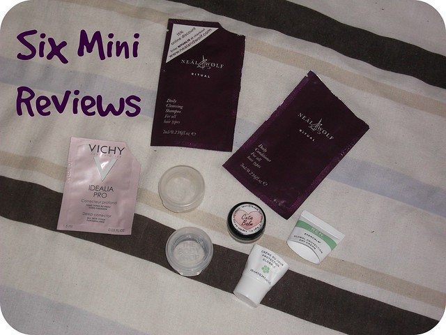 Six Mini Reviews Body Shop Neal & Wolf REN Vichy