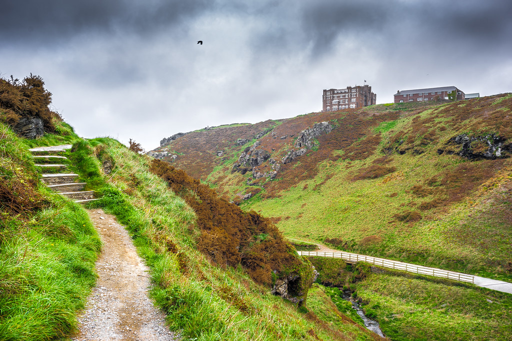 Tintagel Castle, Cornwall, United Kingdom picture