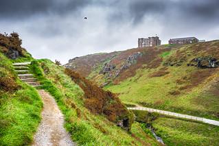 Tintagel Castle, Cornwall, United Kingdom