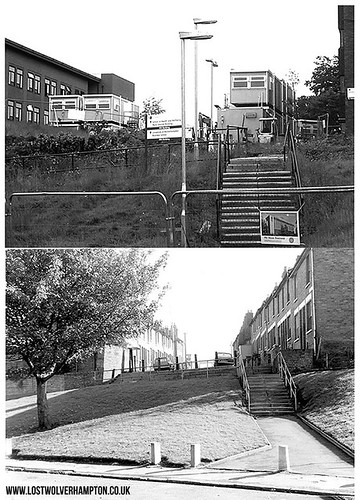 Now - November 2014 in North Street - Then- same scene 1974