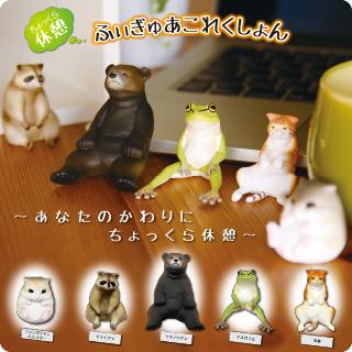 【官圖更新】TAKARA TOMY【可愛動物靠著休息】你累了嗎?!一起休息一會兒吧!
