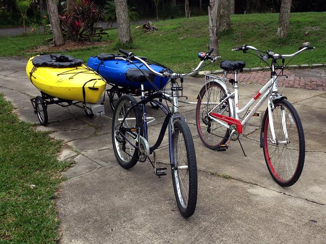 bikes & kayaks