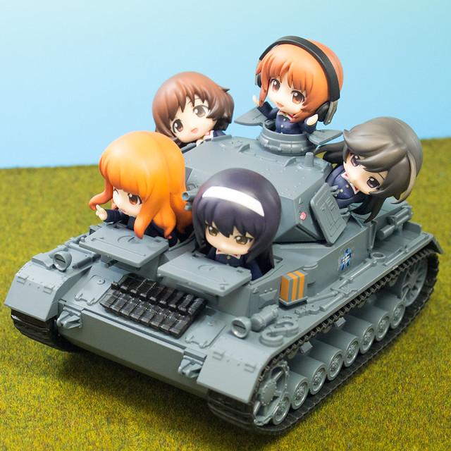 レビュー ねんどろいどもあ Ⅳ号戦車D型