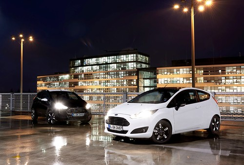 Ford Fiesta Black y White