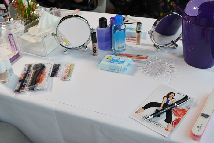 Tisch essence & CATRICE Blogger Event in Wien 03