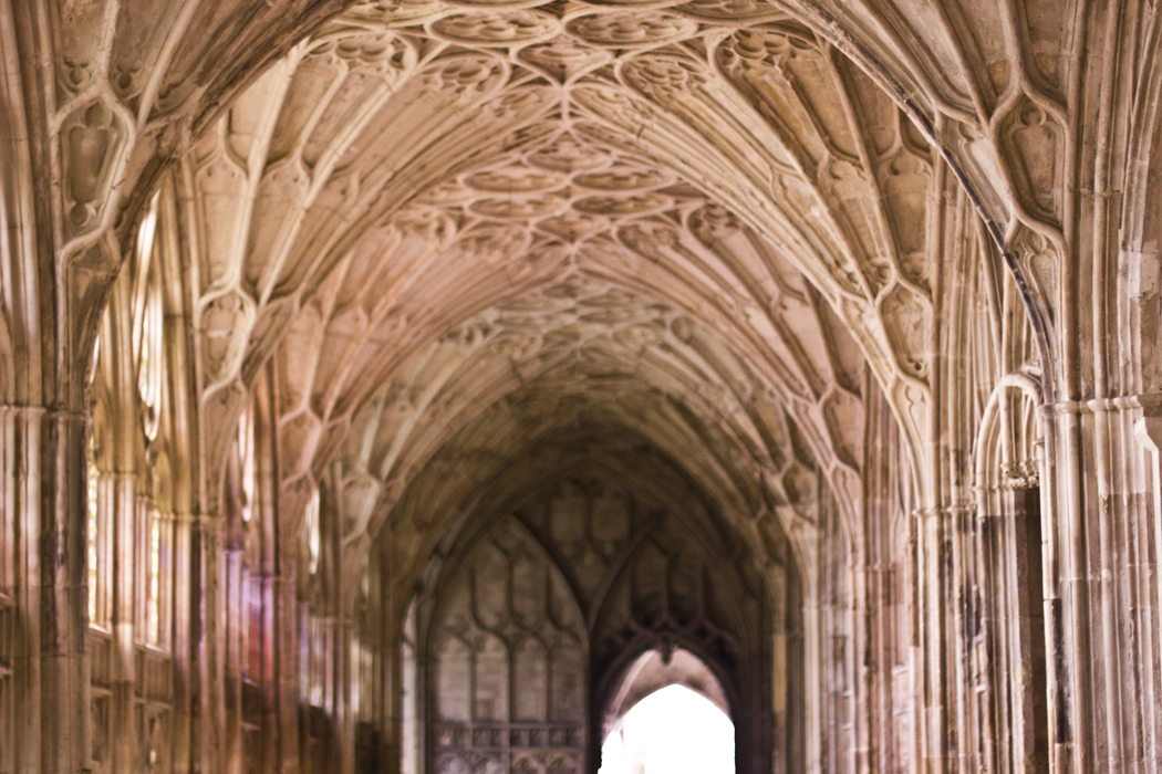 Gloucester Cathedral Britain Harry Potter Sacred Cotswolds Blog