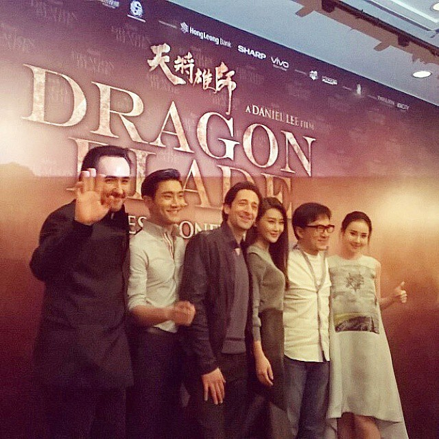 Catch the #DragonBlade stars at the meet and greet session tonight at IOI City Mall, Putrajaya at 7pm, and Pavilion KL at 8pm! #JackieChan #AdrienBrody #JohnCusack #ChoiSiwon