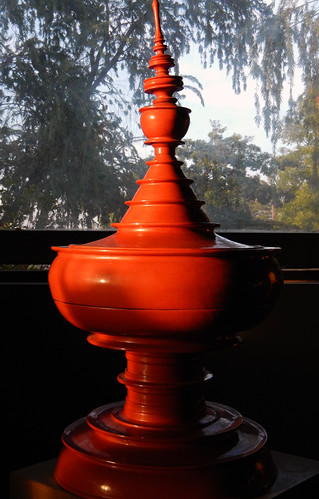 Red Laquerware Typical of Bagan