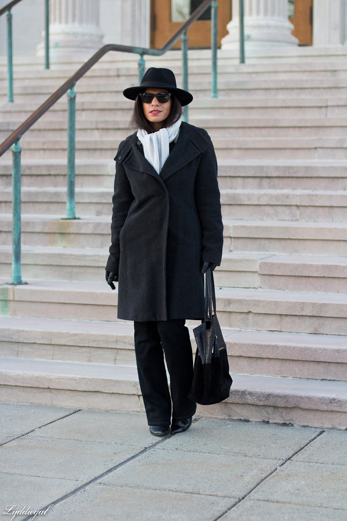 grey coat, grey scarf, wool fedora, denim.jpg