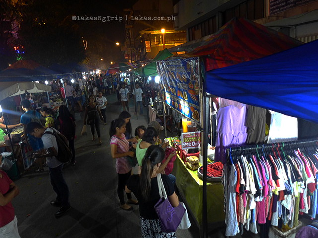 Night Market in Iligan City, Philippines