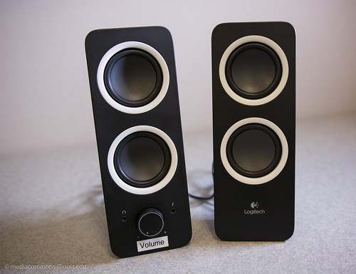Logitech Speakers. Courtesy of UGL Media Commons