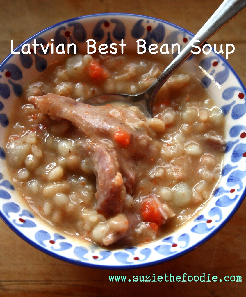 Latvian Cooking's Best Bean Soup