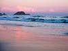 Alassio, isola Gallinara in rosa