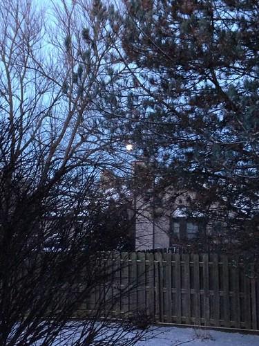 Full moon on February 5