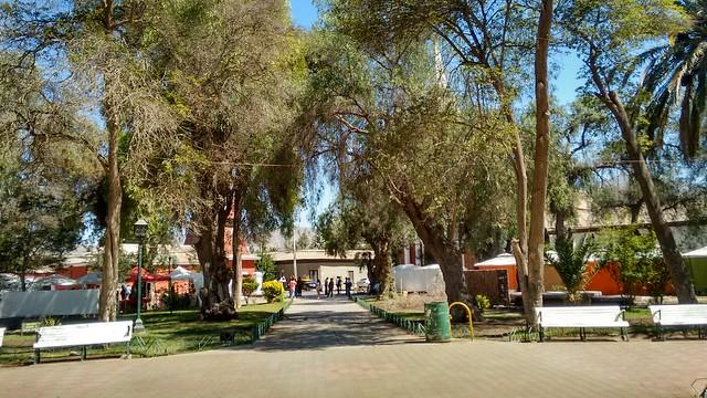 Plaza de Vicuña, Chile