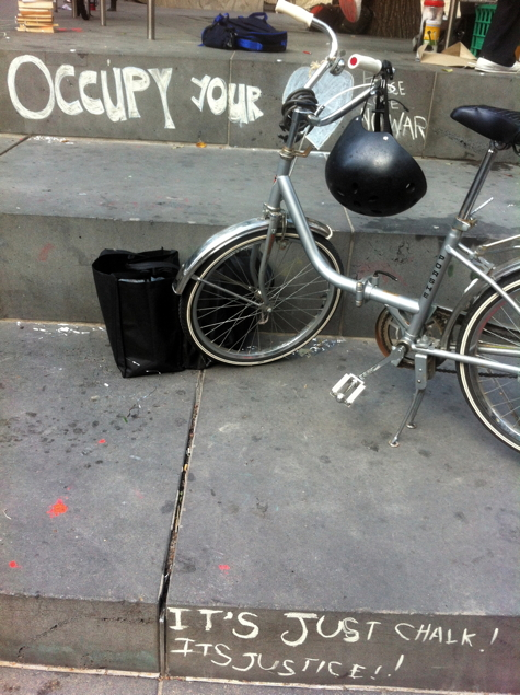 OccFri #12: Occupy your bike