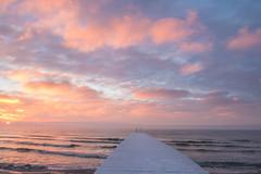 Frosty dock