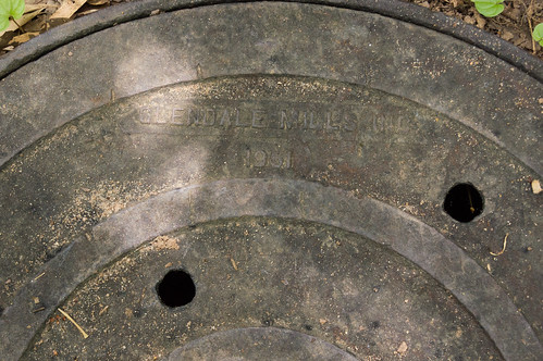 Glendale Mills sewer line cover