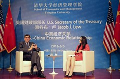 U.S. Department of the Treasury: Treasury Secretary Jacob J. Lew participates in a moderated conversation at Tsinghua University (Monday Jun 6, 2016, 12:37 PM)