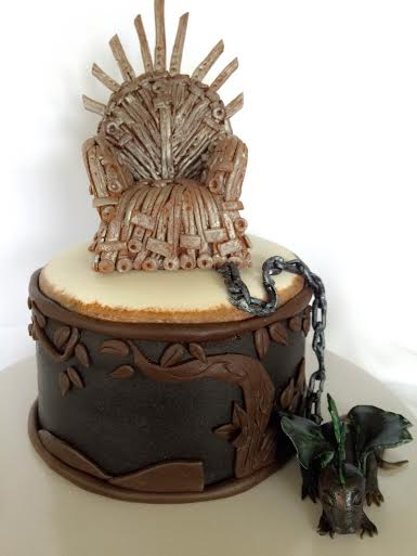 Game of Thrones Cake by Mischa