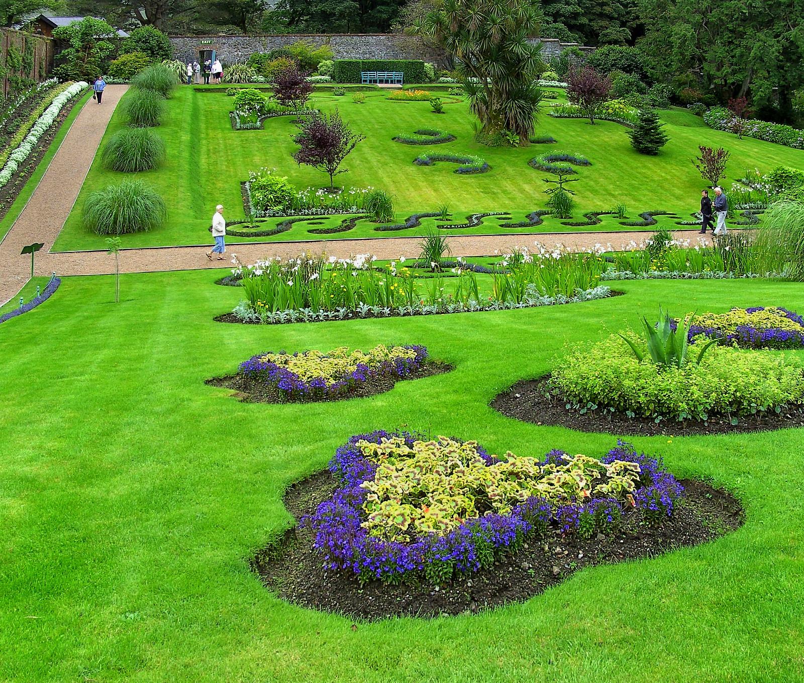 KylemoreAbbey garden. Credit High Contrast