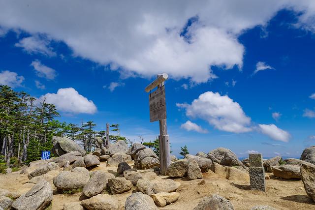 国師ヶ岳山頂