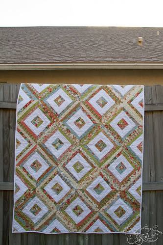 Nostalgia Quilt finish