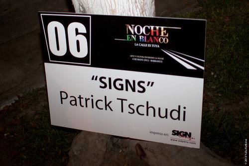 Signs Patrick Tschudi