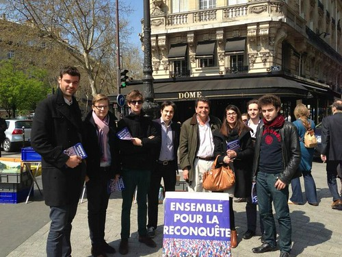 Tractage pour la primaire à Paris | by UMP PARIS